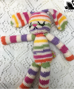 Pattern - Kiddies Couture Crocheted Bunny